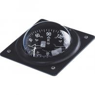 Marine Fixed Mount Compass, Black - F-70P