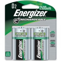 2 Pk, D Rechargeable Battery - NH50BP-2