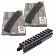 (2) ATI GSG STG-44 22LR 25 round Mags and STG SCOPE MOUNT