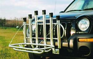 6-holder Fold Down Rod Rack With Cooler Rack - 136