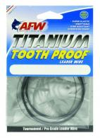 Tooth Proof Titaniumsingle Strand Leader Wire - STI030B