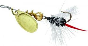 Aglia Spin Fly Wooly Worms - B0W G-BK