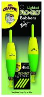 Flo-glo Lighted Bobbers - M2BW-2YG-GL