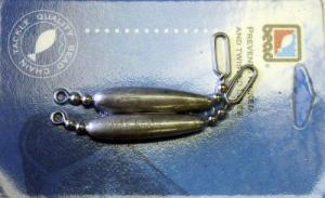 Carded Trolling Leads - DR15T