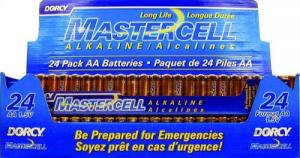 Mastercell Alkaline Batteries - 41-1631