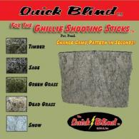Ghillie Stick Blinds - QBT