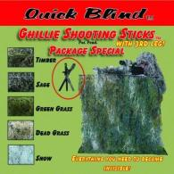 Shooting Stick Kits With 3rd Leg - GKD3
