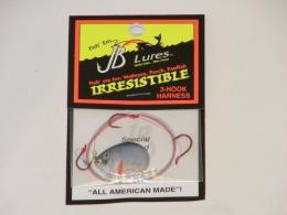 Irresistible Spinner Rigs And 3 Hook Harnesses - IRM34