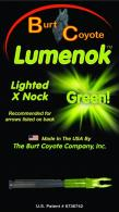 Lumenok Lighted Nock™ - X1G