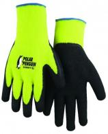 Rubber Palm Knit Hi Vis Gloves - 3396HY/11