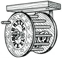 Wood Rattle Wheel - 100