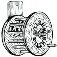 Wood Rattle Wheel - 101