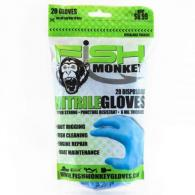 Disposable Nitril Glove - FM20-LTBLUE-L/XL