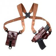 Galco Havana Brown Shoulder Holster Rig For 1911 Style Autos