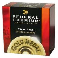 "Federal Gold Medal Plastic 12ga 2.75"" 1oz #7.5 25/bx (25 rounds per box)"