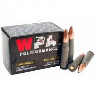 Wolf Ammo 7.62x39mm 123gr HP Polyformance (20 rounds per box)