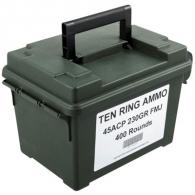 Ten Ring Ammo Can 45 ACP 230gr FMJ 400/Can (400 rounds per box) - TR45230FMJ400