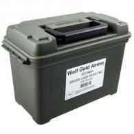 Wolf Ammo Can 223 Rem 55gr FMJ Brass Cased 1000/Can (1000 rounds per box)
