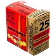 Clever Mirage Super Target 12 GA 2 3/4dr 1-1/8oz #8 250/Case (25 rounds per box)