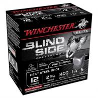 "Winchester Ammo Blind Side 12 GA 2-3/4"" #5 1-1/4oz 25/bx (25 rounds per box)"
