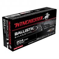 Winchester Ammo Ballistic Silvertip 204 Ruger 32gr 20/bx (20 rounds per box) - WINS204RLF