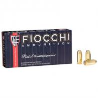 Fiocchi Shooting Dynamics 40 S&W 165gr FMJTC 50/bx (50 rounds per box)