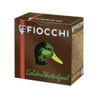 "Fiocchi Golden Waterfowl 12ga 3"" 1-1/4oz #4 25/bx (25 rounds per box)"