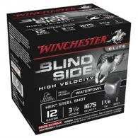 "Winchester Blind Side HV 12 GA 3.5"" 1-3/8 oz #1 25/bx"