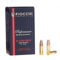 Fiocchi Shooting Dynamics 22LR 38gr CPHP 50/bx (50 rounds per box)