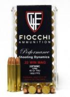 Fiocchi Shooting Dynamics 22 Win Mag 40gr FMJ 50ct Box