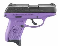 RUGER 3242 LC9S 9MM BLK/PURPLE 3.1 7RD