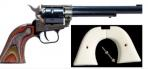 Heritage Manufacturing ROUGH RIDER .22 LR  6.5 CCH (Ivory Grips) - RR22CH6IG