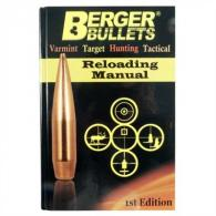 BERGER RELOADING MANUAL - BB11111