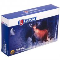Lapua Ammo 308 Win NATURALIS 170gr Solid 20/bx