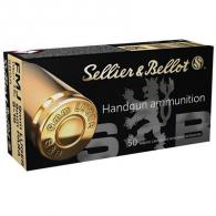 S+B AMMO 9MM LUGER/9MM PARA 115G white box