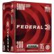 Federal Ammo 9mm 115gr FMJ Champion Aluminum 200/box
