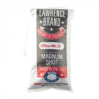 LAWRENCE MAG SHOT #9 - 25# BAG - LAW9M