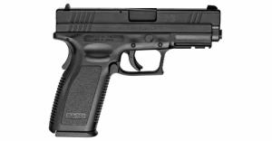 "Springfield XD9 9mm 4"" Black 16rd Essentials - XD9101HCLE"