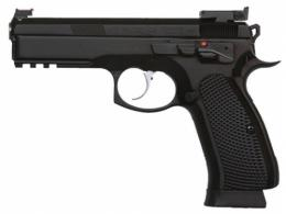 CZ 75 SP01 SHADOW CUSTOM II 9MM Black 3 18RD - 91760
