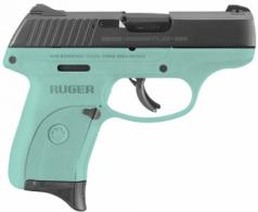Ruger LC9S 9MM BLUED TURQUOISE FRAME