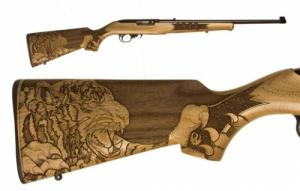 Ruger 10/22 Tiger Engraved .22