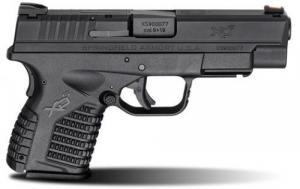"Springfield XDS 9mm 4"" Black Essential Package"
