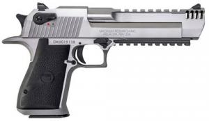 Magnum Research DESERT EAGLE .357 MAG 6 Stainless Steel W/ INT MUZZ BRK - DE357SRMB