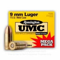 23777 UMC 9MM 115GR MC