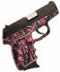 SCCY CPX2 9MM 3.1 10RD Semi Muddy Girl Black Slide - CPX2CBMG