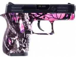 Diamondback Firearms .380 ACP Blk/Muddy Girl 6+1 2.8in DA - DB380MG