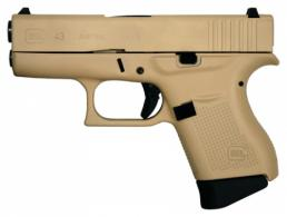 GLOCK 43 9MM 3.39 FXD DS 6 - PI4350201DS