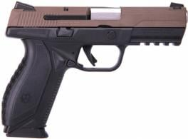 Ruger American Pistol 9mm Brown/Blk 4in. 17+1
