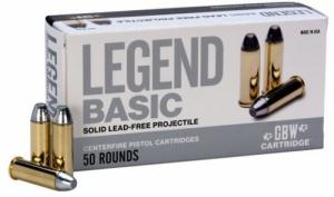 Legend AMMO 10MM AUTO 155GR ZINC 50 rounds - LB10MMA