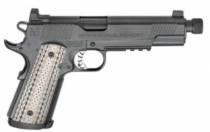 Springfield Master Class Silent Oper .45 ACP Black Threaded - PCE9105B